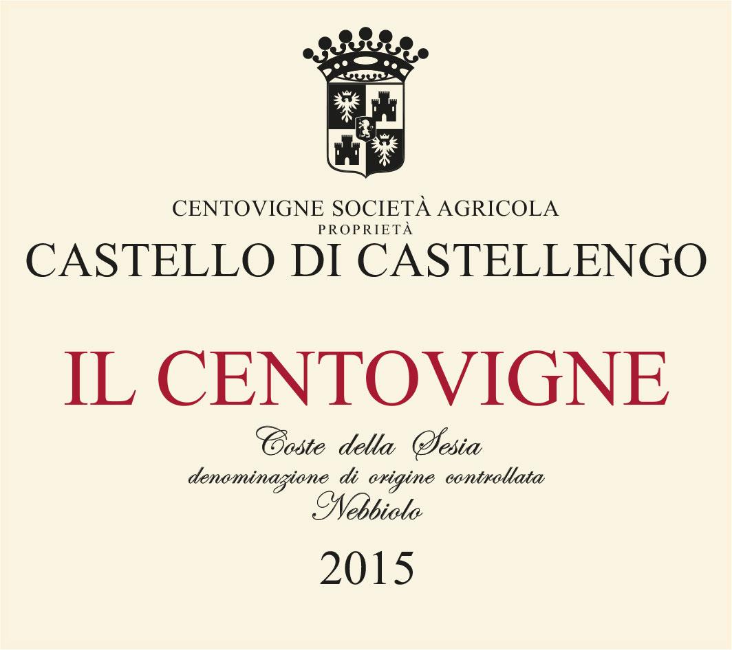Etichetta Il Centovigne 2015